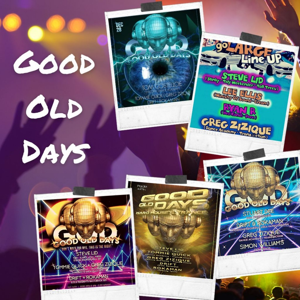 Greg Zizique - GOOD OLD DAYS 2020